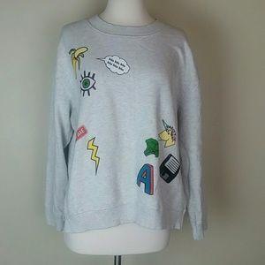 🍄H&M Divided crew neck sweatshirt xl